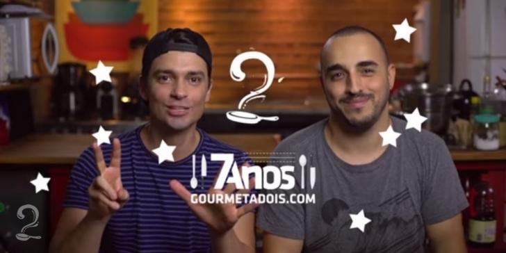 7 ANOS DE GOURMET A DOIS
